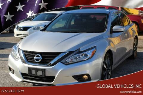 2017 Nissan Altima for sale at Global Vehicles,Inc in Irving TX