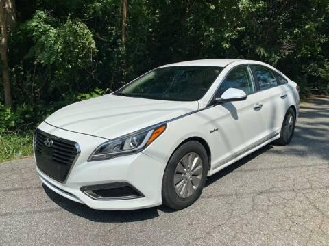 2017 Hyundai Sonata Hybrid for sale at Speed Auto Mall in Greensboro NC