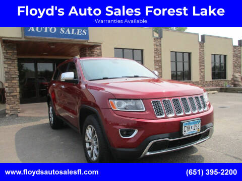 2014 Jeep Grand Cherokee for sale at Floyd's Auto Sales Forest Lake in Forest Lake MN