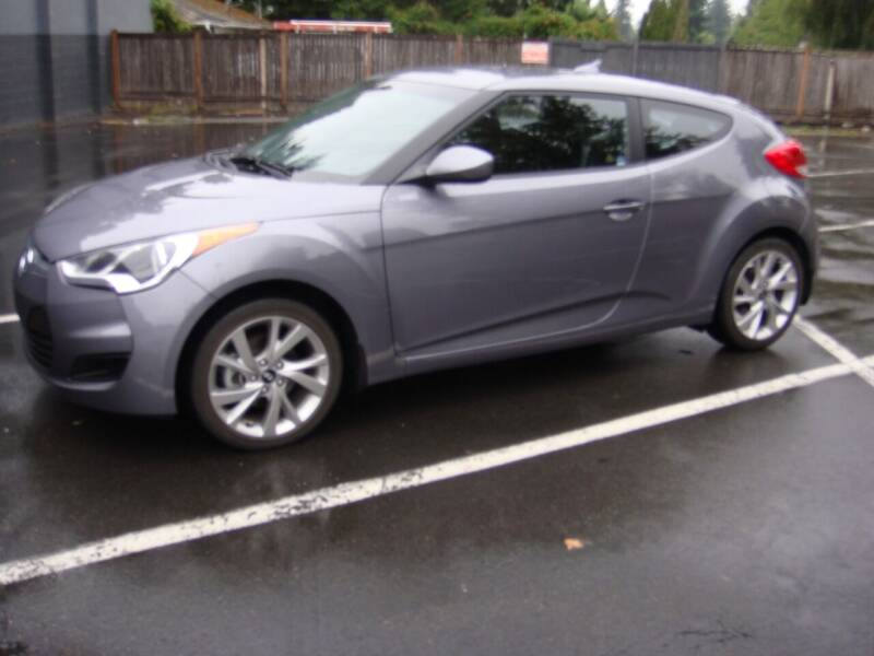 2016 Hyundai Veloster for sale at Western Auto Brokers in Lynnwood WA