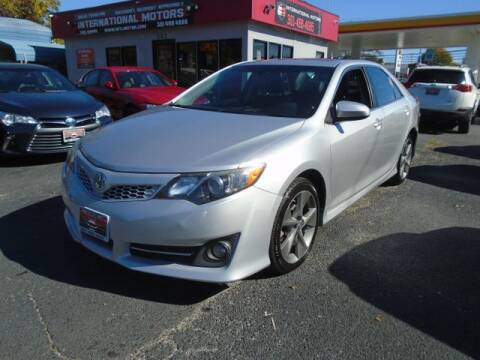 2014 Toyota Camry for sale at International Motors in Laurel MD