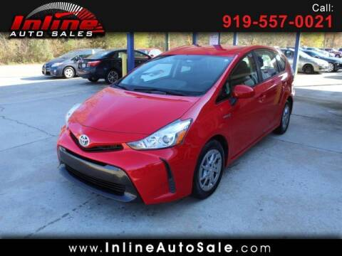 2015 Toyota Prius v for sale at Inline Auto Sales in Fuquay Varina NC