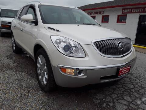 2012 Buick Enclave for sale at Sarpy County Motors in Springfield NE