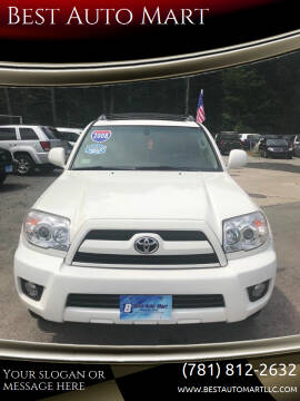 2008 Toyota 4Runner for sale at Best Auto Mart in Weymouth MA