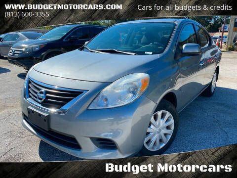 2014 Nissan Versa for sale at Budget Motorcars in Tampa FL