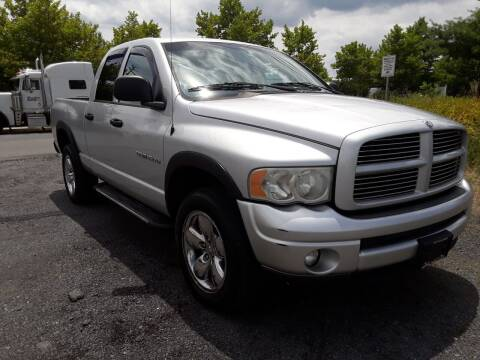 2003 Dodge Ram Pickup 1500 for sale at M & M Auto Brokers in Chantilly VA