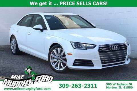 2017 Audi A4 for sale at Mike Murphy Ford in Morton IL
