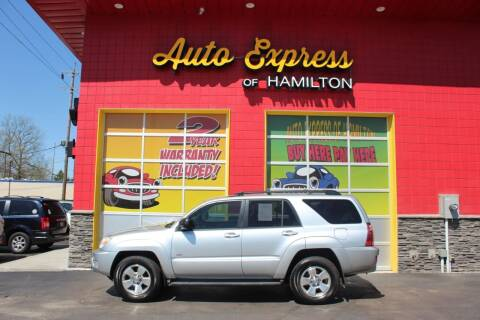 2005 Toyota 4Runner for sale at AUTO EXPRESS OF HAMILTON LLC in Hamilton OH