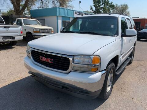 2005 GMC Yukon for sale at Accurate Import in Englewood CO