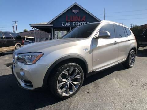 2015 BMW X3 for sale at LUNA CAR CENTER in San Antonio TX