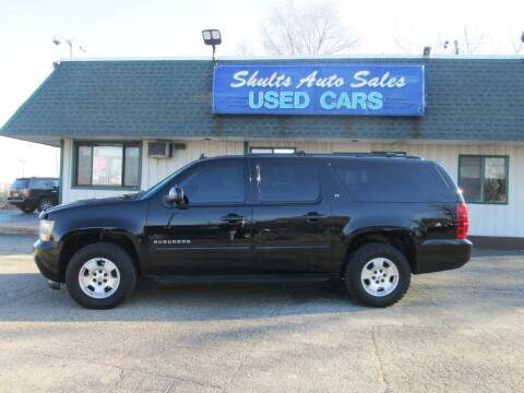 2010 Chevrolet Suburban for sale at SHULTS AUTO SALES INC. in Crystal Lake IL