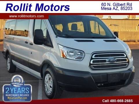 2019 Ford Transit Passenger for sale at Rollit Motors in Mesa AZ