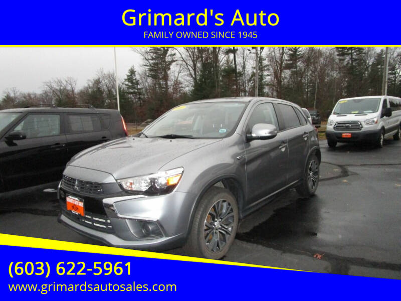 2016 Mitsubishi Outlander Sport for sale at Grimard's Auto in Hooksett, NH