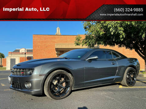 2010 Chevrolet Camaro for sale at Imperial Auto, LLC in Marshall MO