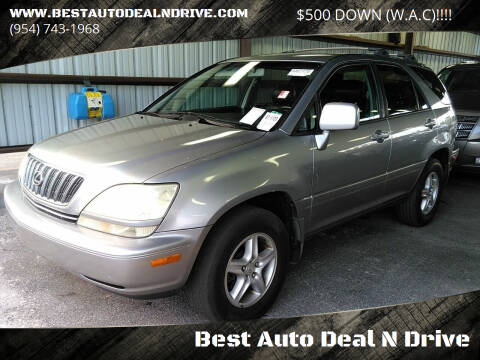 2001 Lexus RX 300 for sale at Best Auto Deal N Drive in Hollywood FL