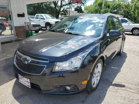 2012 Chevrolet Cruze for sale at New Wheels in Glendale Heights IL