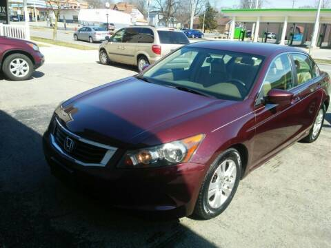 2010 Honda Accord for sale at BELLEFONTAINE MOTOR SALES in Bellefontaine OH