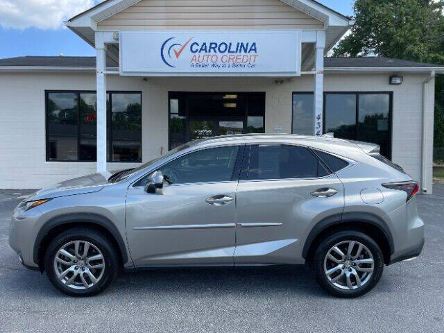 2015 Lexus NX 200t for sale at Carolina Auto Credit in Youngsville NC
