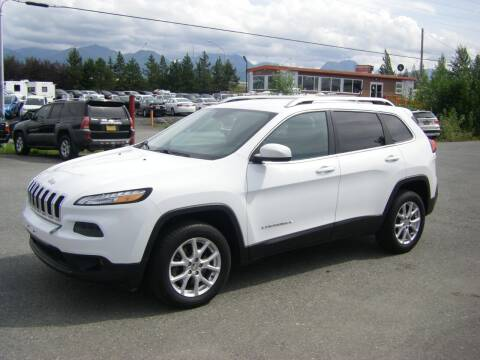 2014 Jeep Cherokee for sale at NORTHWEST AUTO SALES LLC in Anchorage AK