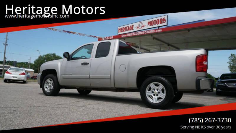 2008 Chevrolet Silverado 1500 for sale at Heritage Motors in Topeka KS