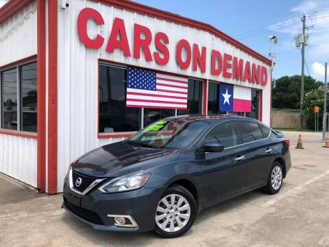 2017 Nissan Sentra for sale at Cars On Demand 3 in Pasadena TX