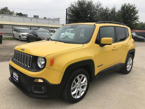 2017 Jeep Renegade for sale at AMIGO USED CARS in Houston TX