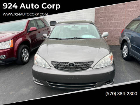 2003 Toyota Camry for sale at 924 Auto Corp in Sheppton PA