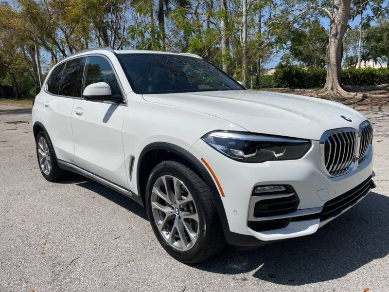 2019 BMW X5 for sale at DELRAY AUTO MALL in Delray Beach FL