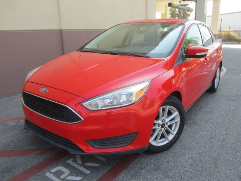 2015 Ford Focus for sale at PREFERRED MOTOR CARS in Covina CA