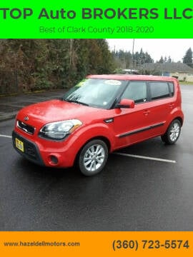 2013 Kia Soul for sale at TOP Auto BROKERS LLC in Vancouver WA