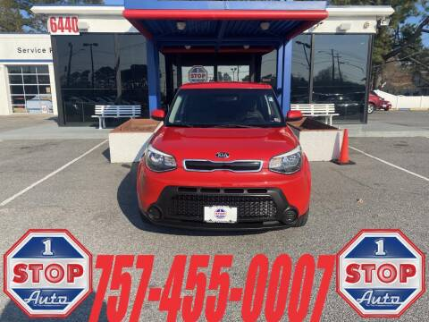 2015 Kia Soul for sale at 1 Stop Auto in Norfolk VA