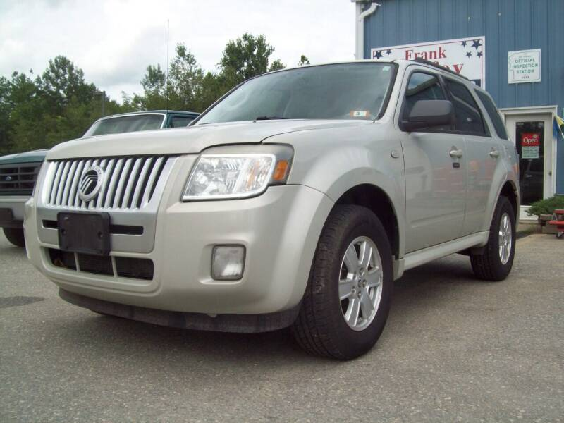 2009 Mercury Mariner for sale at Frank Coffey in Milford NH