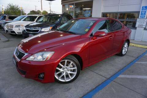 2011 Lexus IS 250 for sale at Industry Motors in Sacramento CA