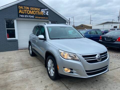 2011 Volkswagen Tiguan for sale at Dalton George Automotive in Marietta OH