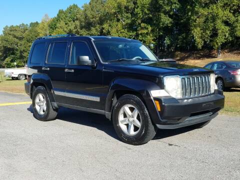 2008 Jeep Liberty for sale at JR's Auto Sales Inc. in Shelby NC
