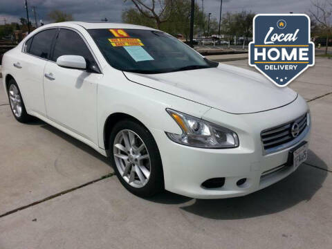 2014 Nissan Maxima for sale at Super Cars Sales Inc #1 in Oakdale CA