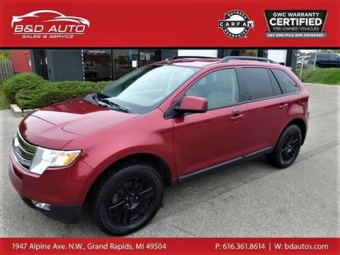 2009 Ford Edge for sale at B&D Auto Sales Inc in Grand Rapids MI