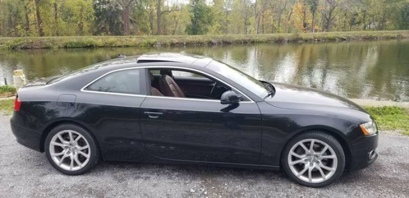 2012 Audi A5 for sale at Auto Link Inc in Spencerport NY