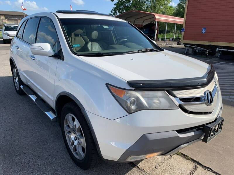 2008 Acura MDX for sale at JAVY AUTO SALES in Houston TX