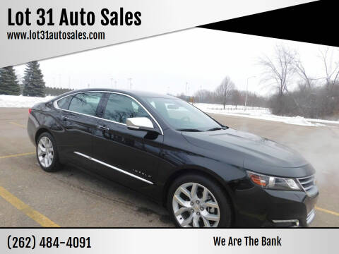 2020 Chevrolet Impala for sale at Lot 31 Auto Sales in Kenosha WI