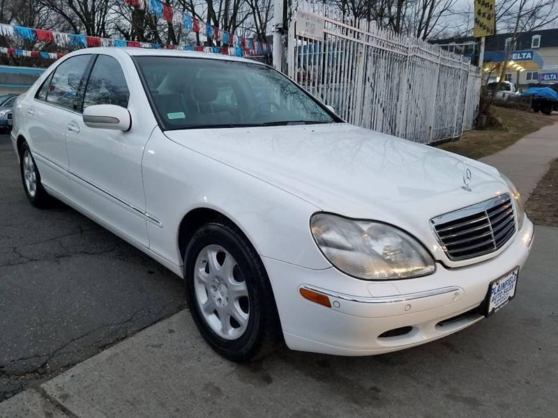 2001 Mercedes-Benz S-Class for sale at New Plainfield Auto Sales in Plainfield NJ