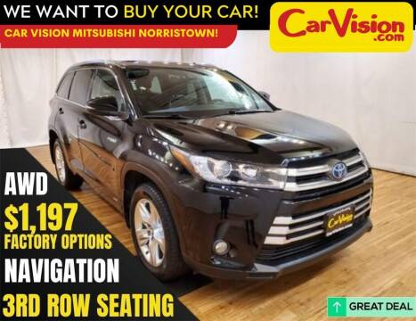 2017 Toyota Highlander Hybrid for sale at Car Vision Mitsubishi Norristown in Norristown PA