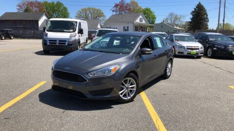 2015 Ford Focus for sale at Mass Auto Exchange in Framingham MA