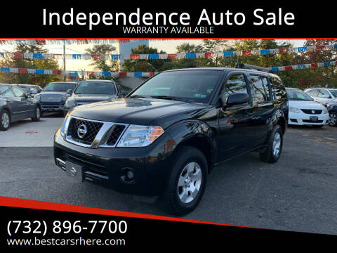 2008 Nissan Pathfinder for sale at Independence Auto Sale in Bordentown NJ