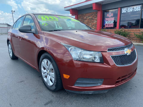 2012 Chevrolet Cruze for sale at Premium Motors in Louisville KY