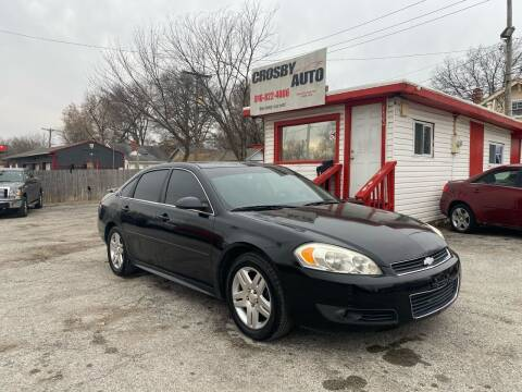 2011 Chevrolet Impala for sale at Crosby Auto LLC in Kansas City MO