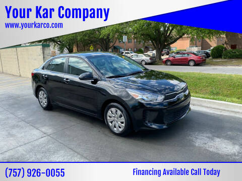2018 Kia Rio for sale at Your Kar Company in Norfolk VA