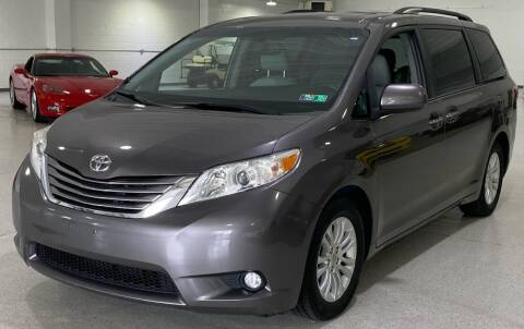 2015 Toyota Sienna for sale at Hamilton Automotive in North Huntingdon PA
