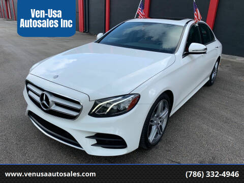 2017 Mercedes-Benz E-Class for sale at Ven-Usa Autosales Inc in Miami FL