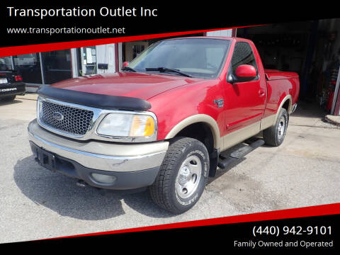1999 Ford F-150 for sale at Transportation Outlet Inc in Eastlake OH